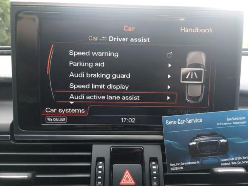 Audi A6 4G MMI Active Lane Assist