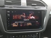 DVDs während der Fahrt