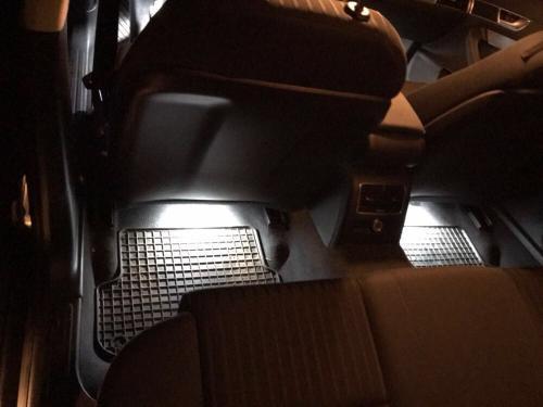 LED Fussraum hinten