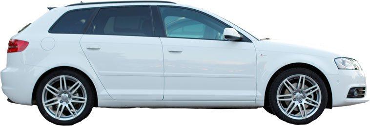 Audi A3 8P versteckte Funktionen
